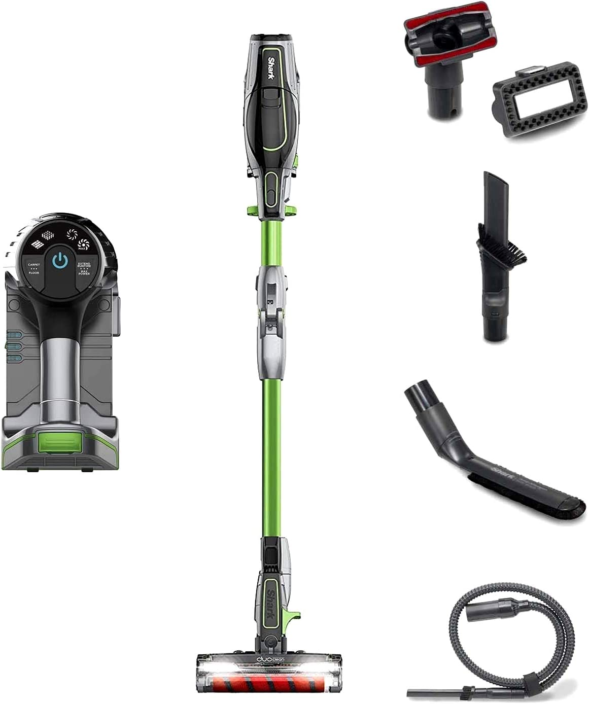Like New - Shark Ion Rocket IR100 Series 2 in 1 Ultra-Light Cordless Vacuum - Remanufactured by Shark - Color May Vary