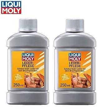Práctico Set. 2 x 250 ml limpiador de Liqui Moly piel ...