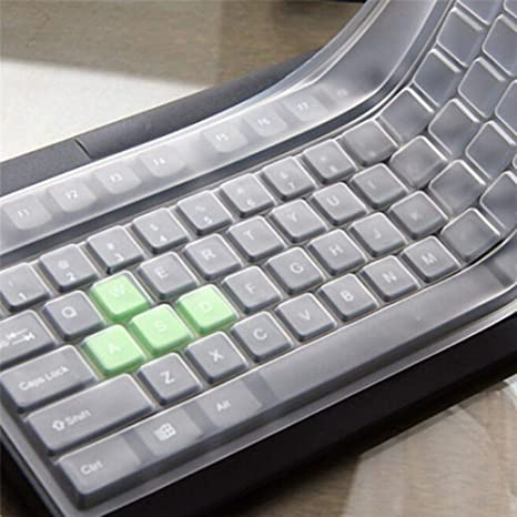 Slri - Funda Universal de Silicona para Teclado de Escritorio, para Ordenador