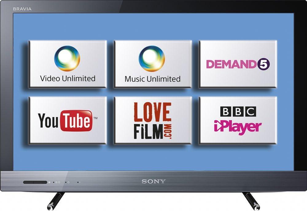 Sony KDL-24EX320BU- Televisión Full HD, Pantalla LED 24 pulgadas: Amazon.es: Electrónica