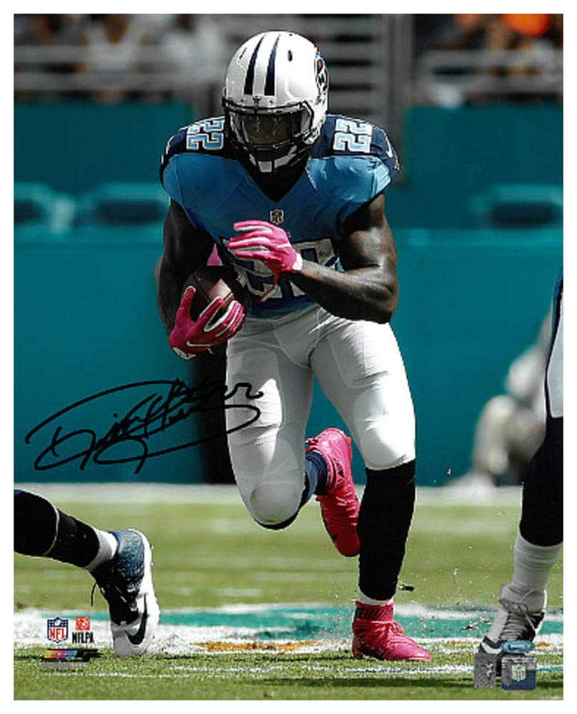 size 40 af487 45f01 Derrick Henry Signed Autograph Tennessee Titans 16x20 Photo ...