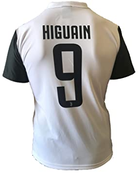 b06fbdc42aa09 Camiseta Jersey Futbol Juventus Gonzalo Higuain 9 Replica Autorizado 2017-2018  Niños Adultos  Amazon.es  Deportes y aire libre