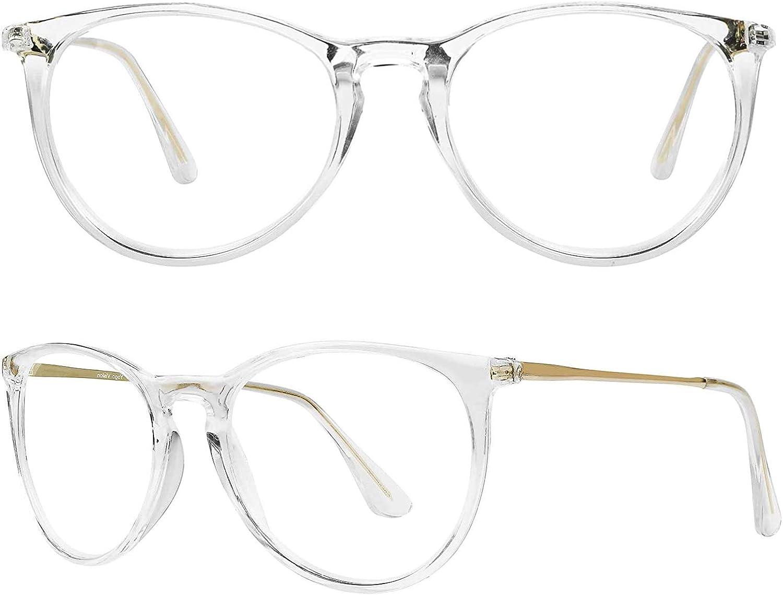 Blue Light Blocking Glasses for Women//Men//FEIDU 4-Pack Computer Gaming Glasses