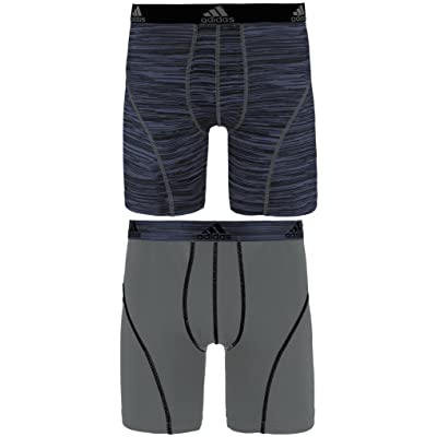 adidas Men's Sport Performance Climalite 9-Inch Midway Underwear (2-Pack)