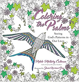 Coloring The Psalms Seeing Gods Patterns In Our Lives Adele Ahlberg Calhoun James Newman Gray 9780830846290 Amazon Books