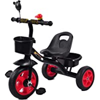 Kids Tricycles with Storage Bin,Safety Triangle Structure,Tricycle for Children Toddler Age 2-6 Years Old
