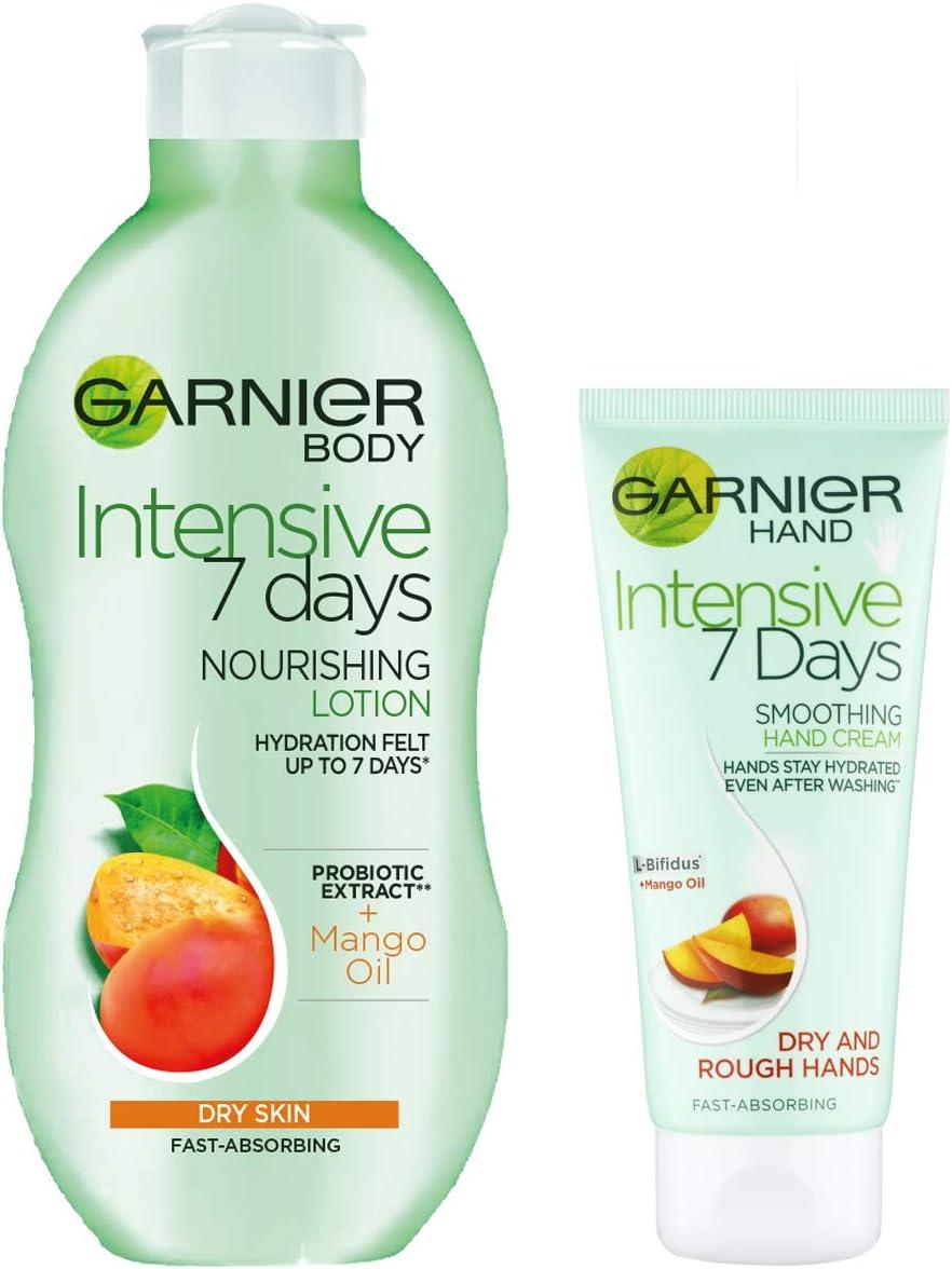 Garnier Intensive 7 Days Mango Hand Cream Dry Skin 100ml | eBay