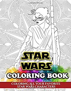 Amazon Com Art Of Coloring Star Wars 100 Images To Inspire