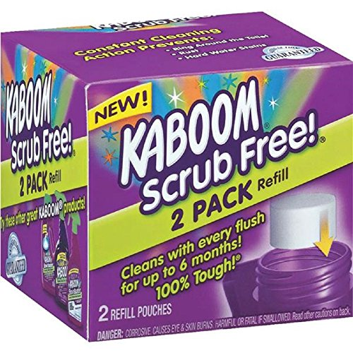 Kaboom with OxiClean Scrub Free! Refill, 2 - Kaboom Bowl