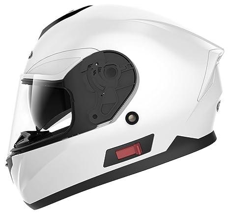 16db1516902ea YEMA Casco Moto Integral ECE Homologado YM-831 Casco de Moto Scooter para Mujer  Hombre