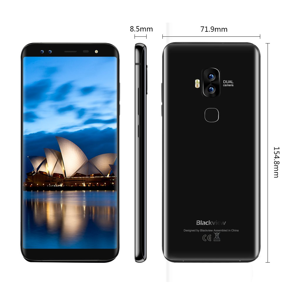 Moviles Libres - Blackview S8 4G Smartphone de 5.7