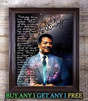 Amazon Com Neil Degrasse Tyson Death Black Hole Autograph