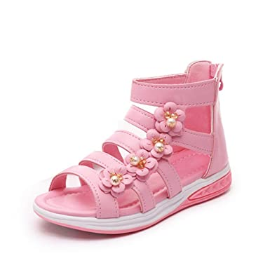 Summer Style Children Sandals Girls Princess Beautiful Flower Shoes Kids  Flat Sandals Baby Shoes Sneakers Girl Sandals  Amazon.co.uk  Clothing 007e4227df53