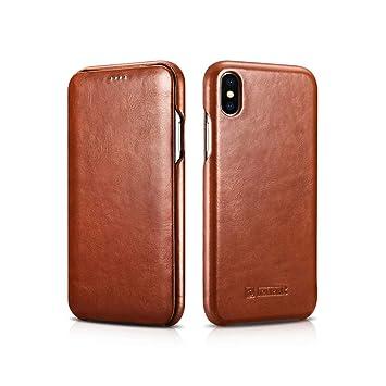 coque xs iphone marron