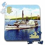 Sandy Mertens New Hampshire - Steamer Mt. Washington on Lake Winnipesaukee - 10x10 Inch Puzzle (pzl_44542_2)