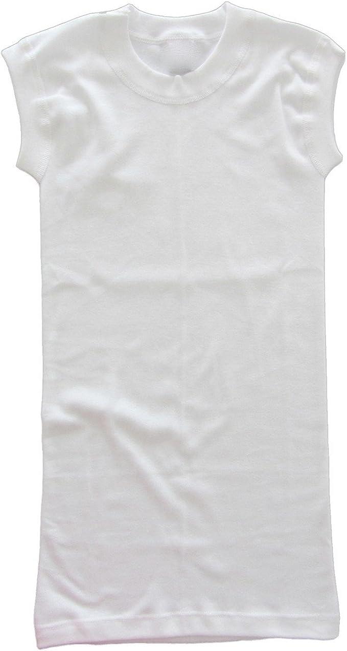 Hecha de 100/% algod/ón org/ánico Aprox.10 cm + HERMKO 1317 Camiseta Interior de Mujer