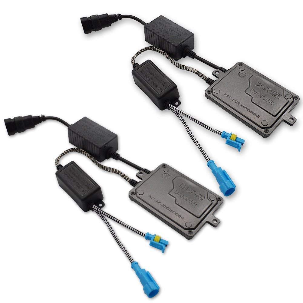 Safego 55W FARI XENO XENON HID KIT LUCI di Conversione HID Accessori Super Luminosa 6000K Bianco Auto Xenon HID Light H7 Xenon Conversion HID Kit