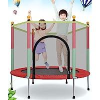 ترامبولين داخلي 4 قطع ، هزاز للأطفال البالغين ، القفز للأطفال ، ألعاب القفز للأطفال مع اللياقة البدنية ، نابض سميك…
