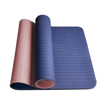 Amazon.com : ZHAO YING TPE Yoga Mat - Widened - Thickened ...