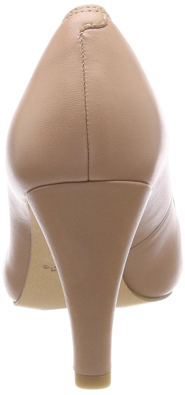 Clarks Rose Damen Dalia Rose Clarks Pumps Beige (Nude Leder) 6dcada