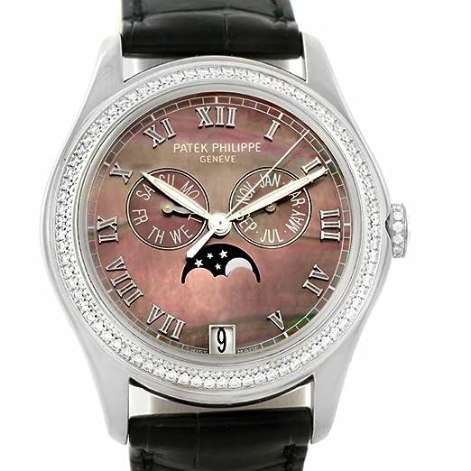 PATEK PHILIPPE complicaciones automatic-self-wind Mens Reloj 4936 G-001 (Certificado) de segunda mano: Patek Philippe: Amazon.es: Relojes