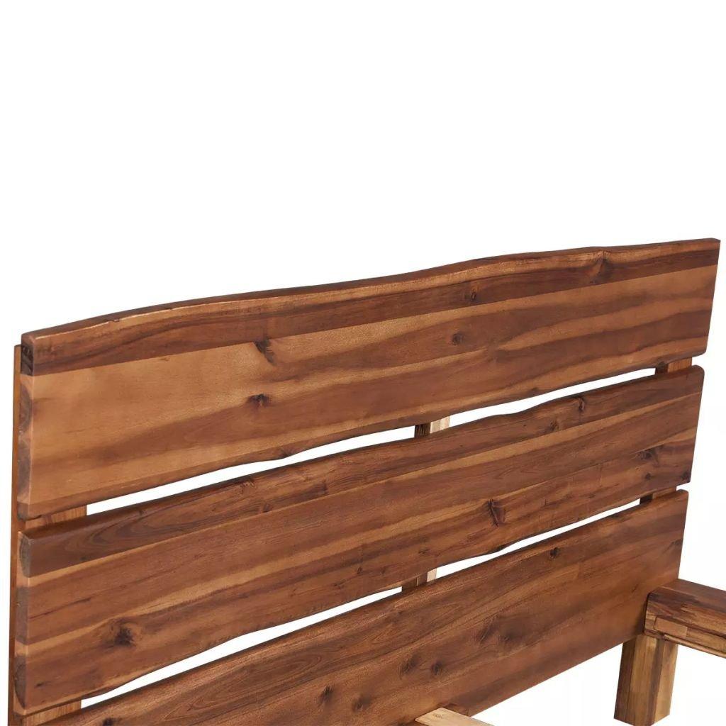 Möbel Betten Shengfeng Holz Bett Gestell Massiv Akazienholz