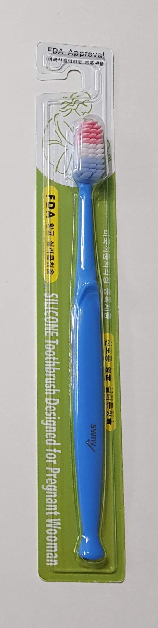 [Silisol] Toothbrush Gum massage for Pregnant woman (Blue)