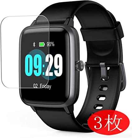 【3 Pack】 Synvy Screen Protector for SKYGRAND/Letsfit/ANBES/Arbily/KUNGIX/LETSCOM/Fitpolo/YAMAY/Willful Smartwatch Smart Watch 1.3