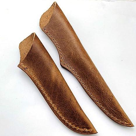 Aibote - Funda de piel para cuchillos de cocina con funda ...
