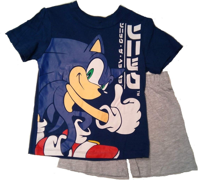 Sun-City Boys Kids Sonic Shortie Pyjamas