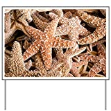 Yard Sign Collection Of Starfish