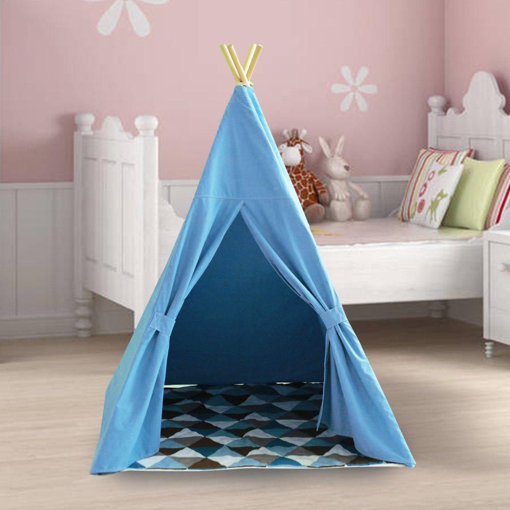 nett tipi zelt frs kinderzimmer galerie heimat ideen. Black Bedroom Furniture Sets. Home Design Ideas