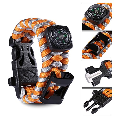 Elephant Outdoor Paracord Bracelet Survival product image