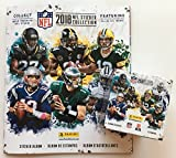 2018 Panini NFL Football Sticker Combo 1 Sticker Album plus 50 Packs (250 Stickers)