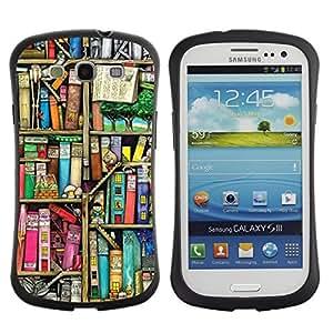 "Pulsar iFace Series Tpu silicona Carcasa Funda Case para SAMSUNG Galaxy S3 III / i9300 / i747 , La lectura de la Biblioteca Escolar Teach"""