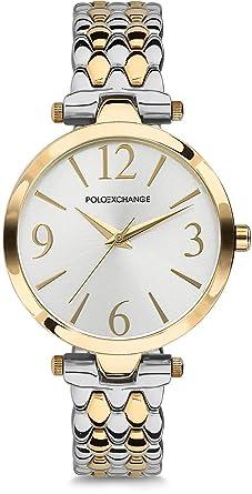 Polo Exchange PX020L-04 - Reloj de Pulsera para Mujer: Amazon.es ...