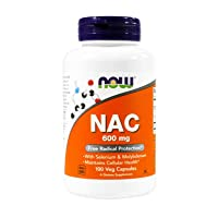 Now Foods NAC 600 mg - 100 Vcaps 2 Pack