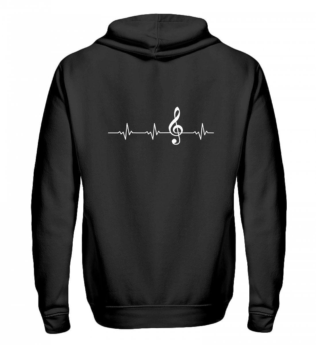 Orchester und Chor T-Shirt für alle, die Musik lieben  - Zip-Hoodie