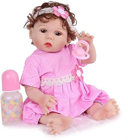 Chrex Realista Reborn Baby Dolls De Silicona De Cuerpo Completo 18 0 In Realista Impermeable Muñecas Bebé Anatómicamente Correctas Bebé Recién Nacido 3 Toys Games
