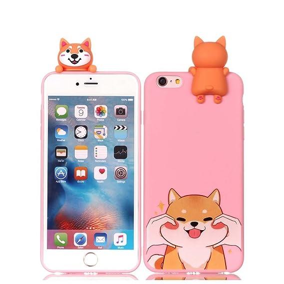 selezione premium 553e5 c4144 Amazon.com: iPhone 6 6S Silicone Case, iPhone 6S Cover ...