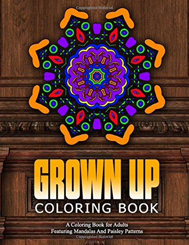 GROWN UP COLORING BOOK - Vol.14: relaxation coloring books for adults (Volume 14)
