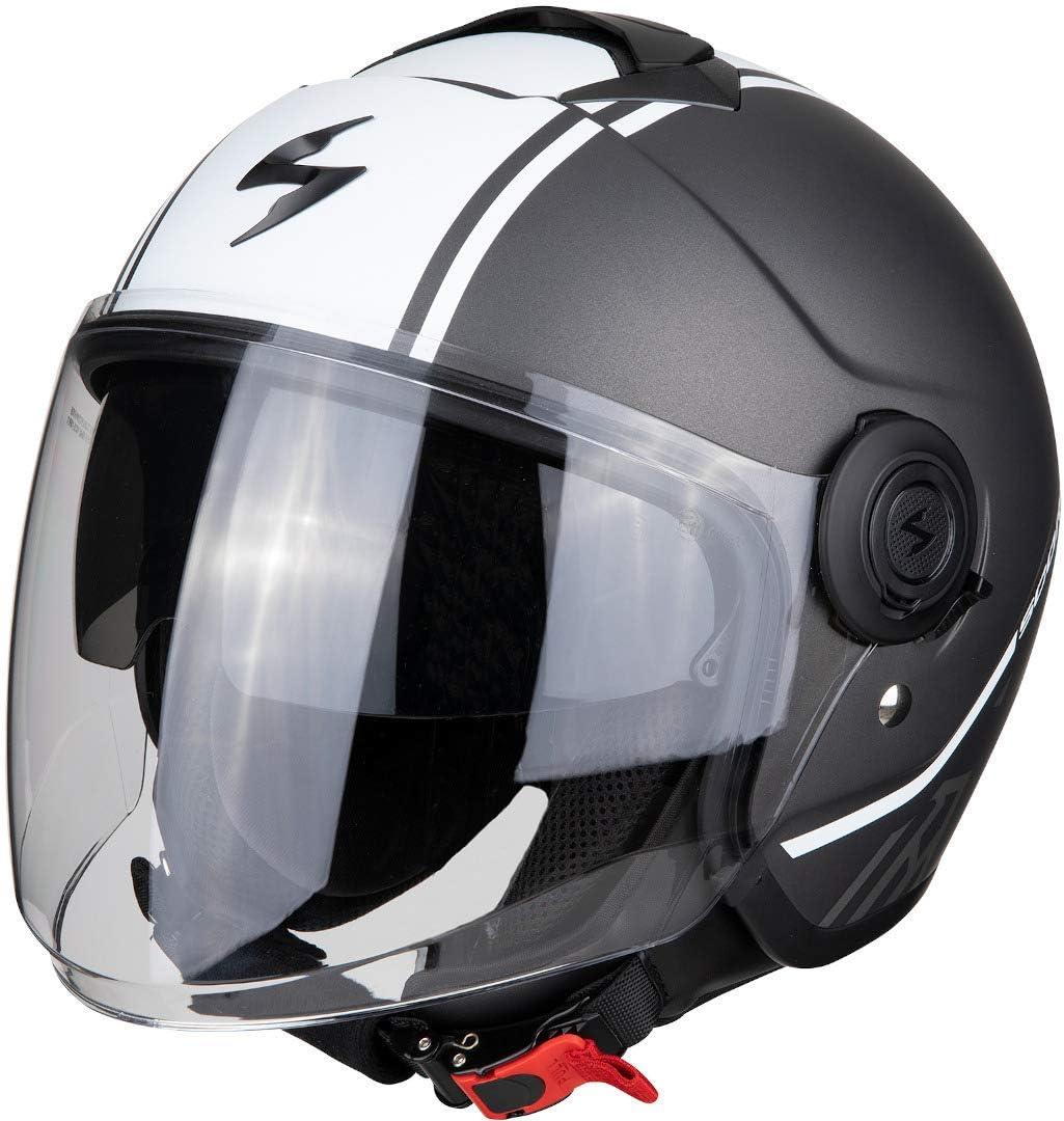 Scorpion Motorradhelm Exo City Avenue Red White Rot Weiss Xl Auto