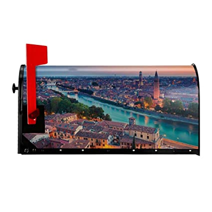 """Amazon.com: NCXIAO Magnetic Mailbox Cover - 18""""W x 21""""H ..."""