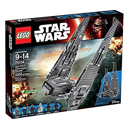 Amazoncom Lego Star Wars Kylo Rens Command Shuttle 75104 Star