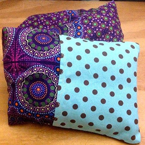 Microwave or Freeze NECK Pillow : SACRED CIRCLES - A Buckwhe