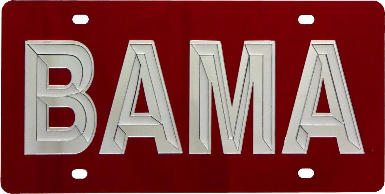 WinCraft Alabama University of S00166 Acrylic Classic License Plates