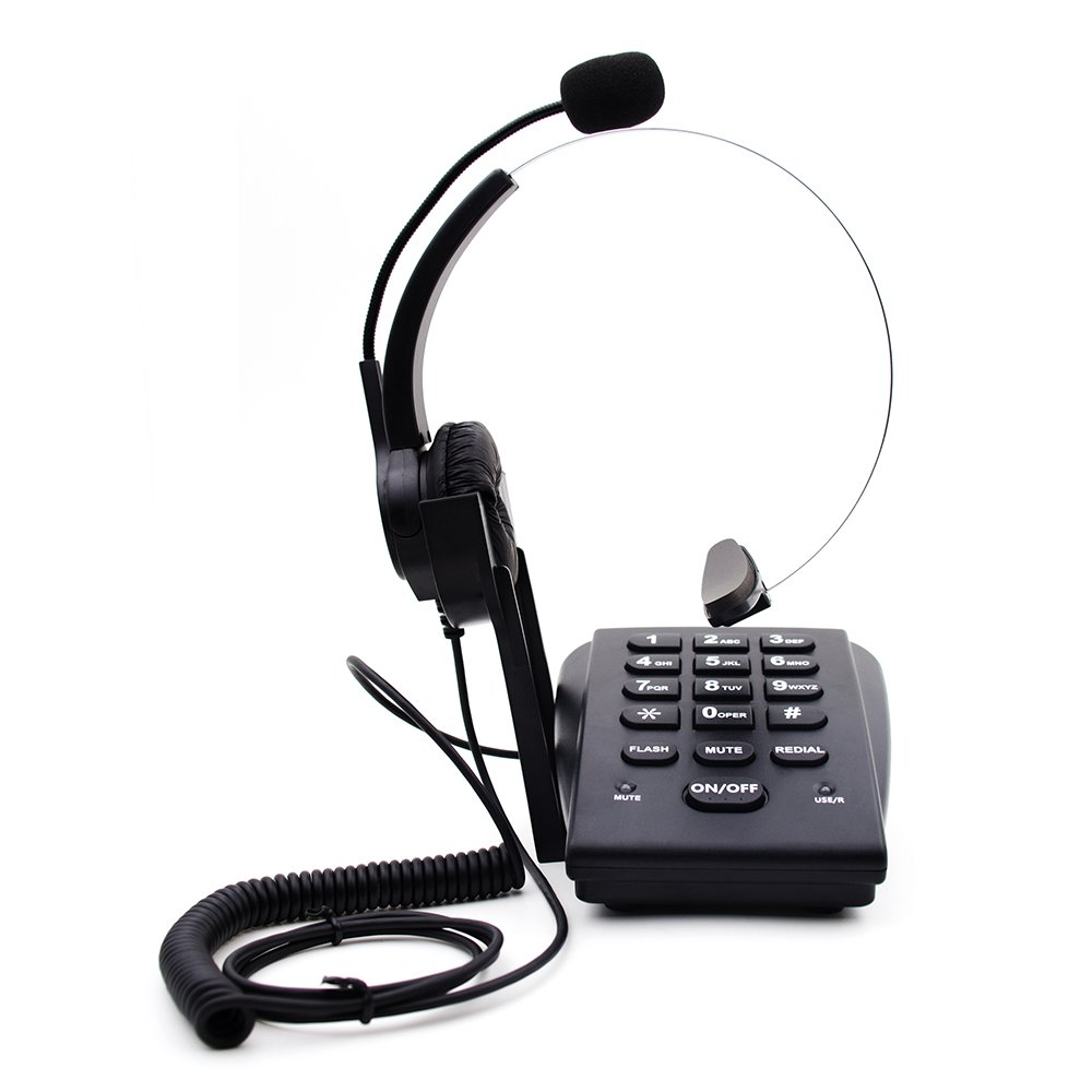 TelPal Dialpad Corded Telephone[Call Center]with Noise