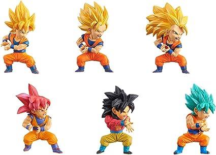 Dragon Ball Super World Collectable WCF SAIYANS BRAVERY vol.2 All 6 set NEW