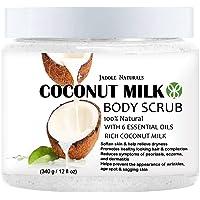 Naturals Coconut Milk Exfoliating Body Scrub With Dead Sea Salt 340 g, Pack of 1