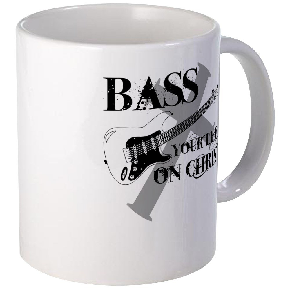 CafePress Bass Christ Unique Coffee Image 1